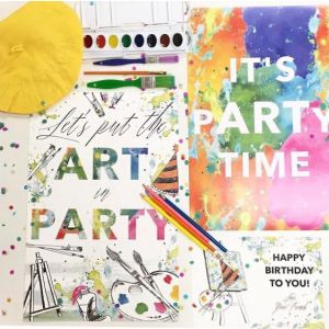 Artist Themed Party in a box