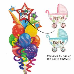 Baby Buggy Balloon bouquet| Dottedi