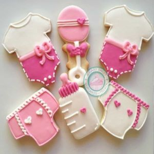 Baby Shower - Girl Cookies| Dottedi