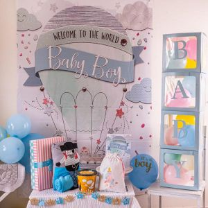Welcome Baby Party in a Box - Boy