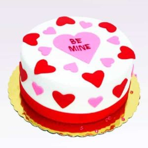 Be Mine Cake| Dottedi
