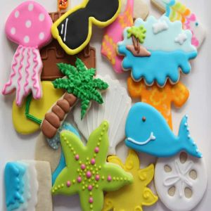 Beach Cookies| Dottedi