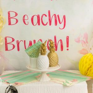 Beachy Brunch Party in a Box