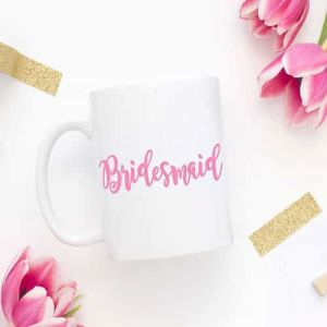 Bridesmaid Mug| Dottedi
