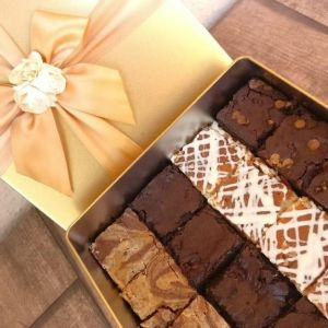Brownies in a Tin Box| Dottedi
