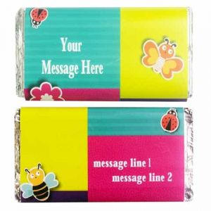 Personalized Chocolate Wrapper: Butterfly| Dottedi