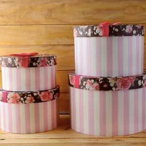 Floral Candy Hat box| Dottedi
