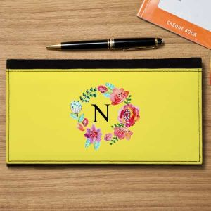 Cheque book holder Monogram| Dottedi