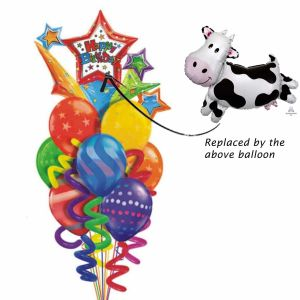Contented Cow Balloon bouquet| Dottedi