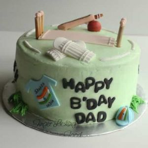 Cricket Ground Cake| Dottedi