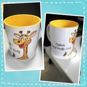 Customized animal mug| Dottedi