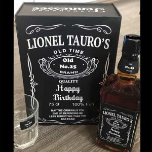 Personalized Whisky Bottle| Dottedi