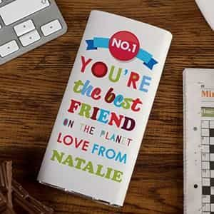 Personalized Chocolate Bar You're The Best Friend On The Planet| Dottedi