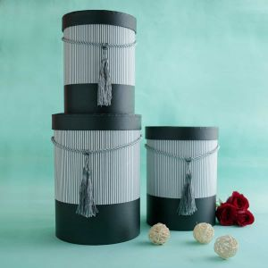 Cyclinder Hat Box| Dottedi