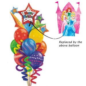 Princess Castle Balloon bouquet| Dottedi