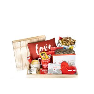 You are my lover hamper crate