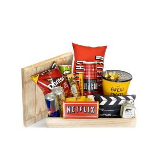 Netflix and Chill Crate