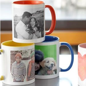 Photo Upload Family Pair Mugs