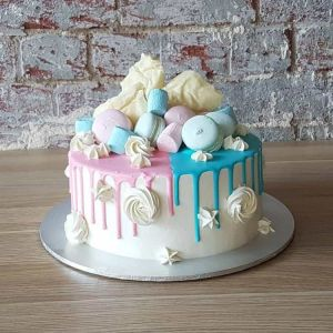 Marshmallow and Macaroons Fantasy Cake | Dottedi