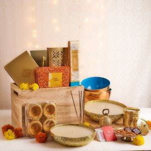 Festivities Crate Hamper