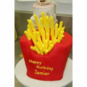 French fries cake| Dottedi