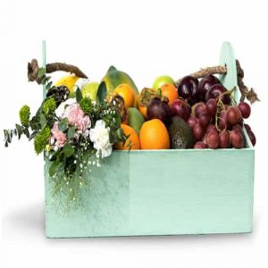 Garden Fresh Fruit Hamper| Dottedi
