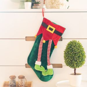 Christmas Stocking - Green| Dottedi