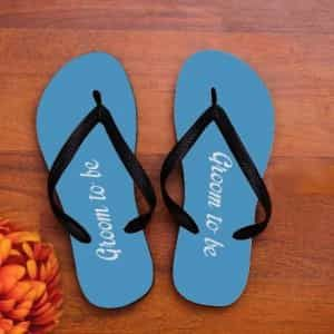 Personalized Groom to be slippers| Dottedi