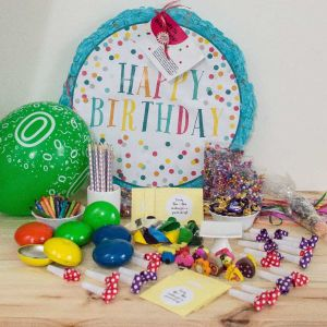 Happy birthday pinata| Dottedi