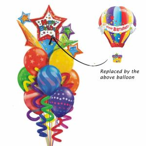 Hot-Air Birthday Balloon| Dottedi
