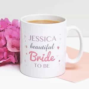 Customized Bride to be Mug| Dottedi