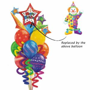 Juggler Air-Walker Balloon bouquet| Dottedi