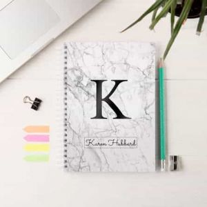 Personalized Notebook Marble | Dottedi