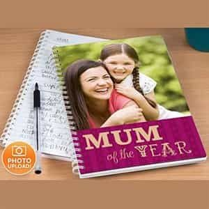 Personalized Photo Notebook Mum of the Year| Dottedi