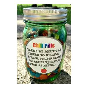 Mood Pills Candy Jar