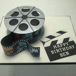 Movie Reel Cake| Dottedi