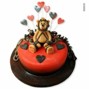 Naughty Bear Cake| Dottedi