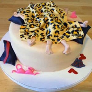Naughty bed cake| Dottedi