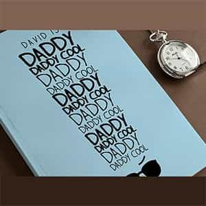Personalized Notebook Daddy Cool| Dottedi