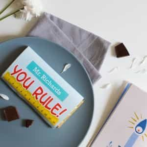 Personalized Chocolate Bar You Rule| Dottedi