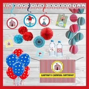 Carnival Themed Party In A Box| Dottedi