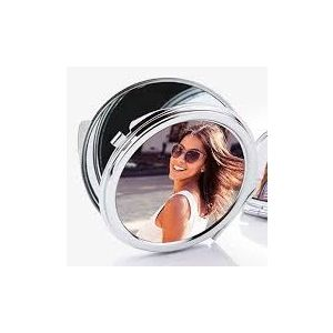 Personalised Pocket Mirror - Upload your photo| Dottedi