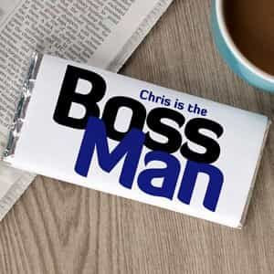 Boss Man chocolate wrapper| Dottedi