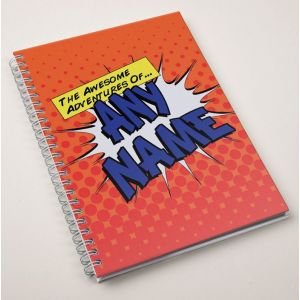 Personalized Notebook - Awesome Adventures
