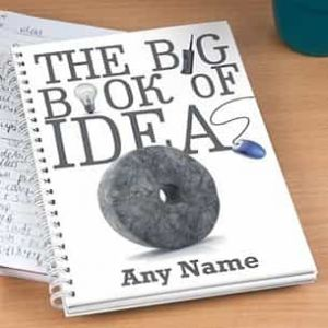 Personalized Notebook Big Book of Ideas| Dottedi