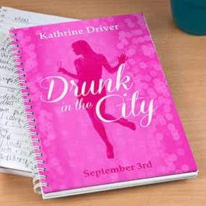 Personalized Notebook Drunk In The City| Dottedi