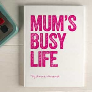 Personalized Notebook Mums Busy Life| Dottedi