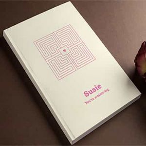Personalized Notebook You're a-maze-ing| Dottedi