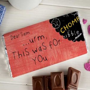 Personalized Purple Ronnie Chocolate Bar This Was For You| Dottedi