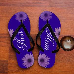 personalized Floral slippers| Dottedi